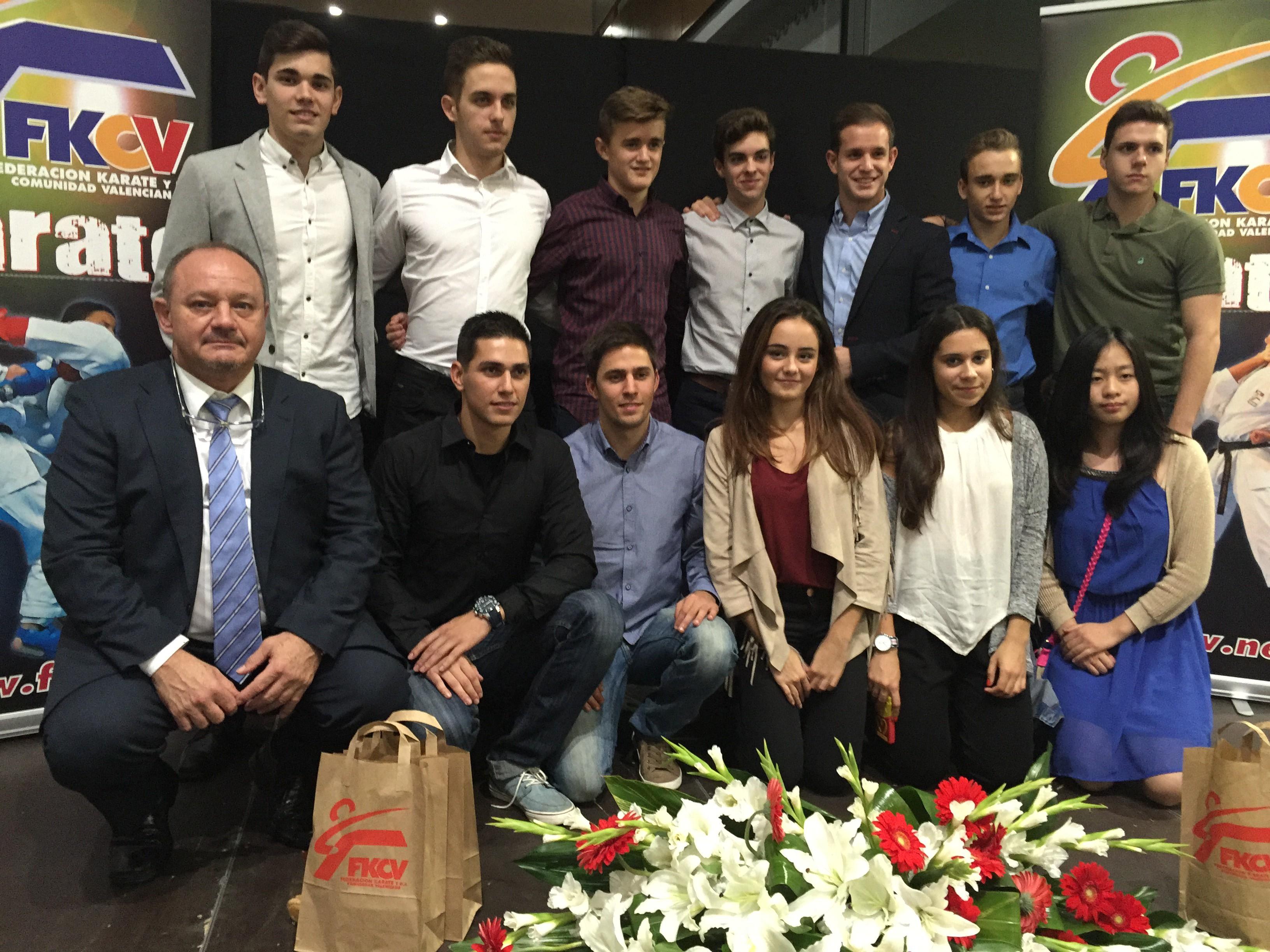 XV Gala Anual de la Federación de Karate de la Comunidad Valenciana