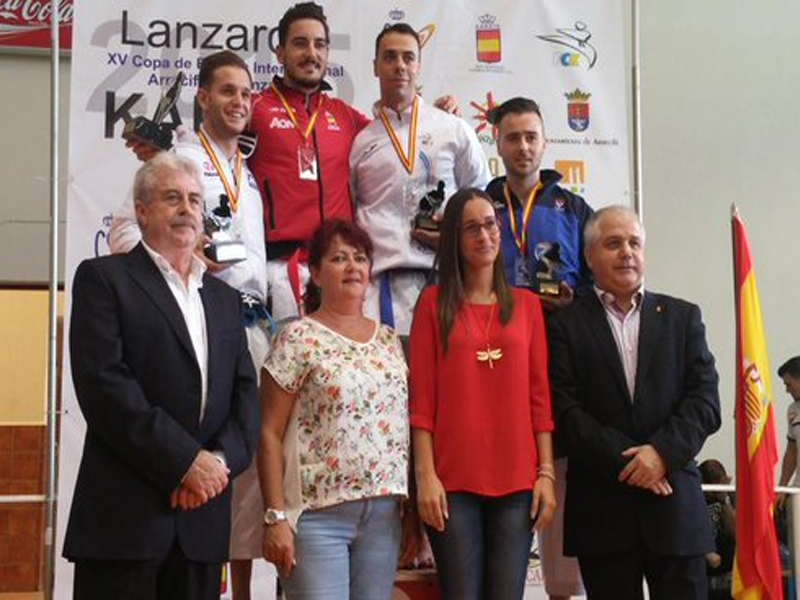 Carbonell, plata en la Copa de España Internacional absoluta